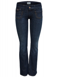 ONLY Onlebba Low Bootcut Jeans Dames Blauw