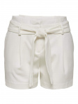 ONLY Paperbag Shorts Dames White