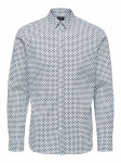 SELECTED Button-down Kraag Overhemd Heren Blauw