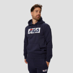 Fila tresso taped trui blauw heren