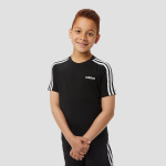 adidas Essentials 3-stripes shirt zwart kinderen Kinderen