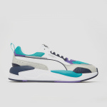 Puma x-ray 2 square sneakers wit/groen heren