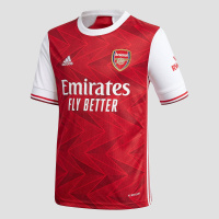Adidas arsenal fc thuisshirt 20/21 rood/wit kinderen