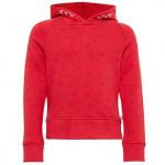 TOM TAILOR hoodie met capuchon, dark blossom red, 104/110