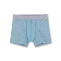 Sanetta Boys Shorts atlas - Blauw - Gr.128 - Jongen