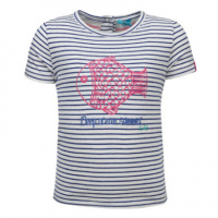 rende! Girl S T-Shirt met strepen...