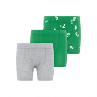 name it Boys Boxershort 3er Pack medium groen - Groen - Gr.Kindermode (2 - 6 jaar) - Jongen