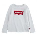 Levi's® Kids shirt lange mouwen wit