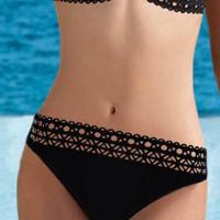 Lise Charmel badmode Ajourage Couture bikinislip zwart aba0415
