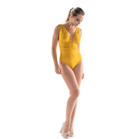 Nicole Olivier Badmode Badpak Middle geel 5321