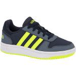 Adidas hoops 2.0 sneakers blauw/groen kinderen