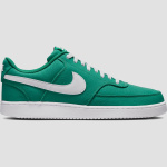 Nike nike court vision low canvas sneakers groen/wit heren