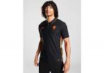 Nike Nike uefa euro 2020 knvb nederland breathe stadium uitshirt 20/22 zwart/oranje heren heren