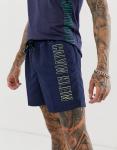 Calvin Klein - Intense Power - Zwemshort met logo in marineblauw