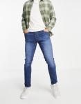 Jack & Jones Intelligence - Smalle jeans met smaltoelopende pijpen in lichtblauw