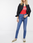 Levi's 721 high waist skinny jeans blauw