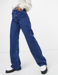 Wideleg high-waist jeans