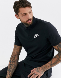 Nike - Poloshirt in zwart