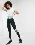 Puma - Feel It - Mesh cropped legging in groen