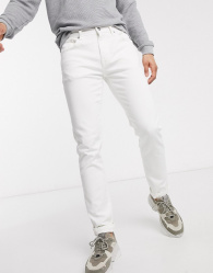 SELECTED 6221 - Slim Fit Jeans Heren White