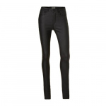ONLY Onlanna Mid Gecoate Skinny Jeans Dames Zwart