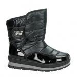 Snow Fun snowboots zwart