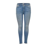 ONLY Onlblush Mid Ankle Skinny Jeans Dames Blauw