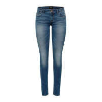 ONLY Onlcoral Superlow Skinny Jeans Dames Blauw