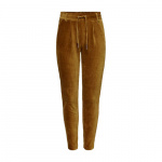 ONLY corduroy tapered fit broek bruin