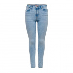 ONLY Onlpaola Life Hw Ankle Skinny Jeans Dames Blauw