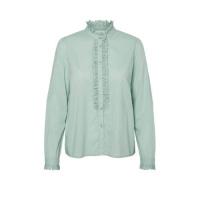 VERO MODA High-neck Overhemd Dames Green