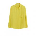 Violeta by Mango blouse met opgestikte zak