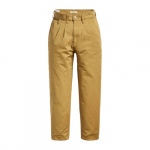 Levi's Pleated Balloon high waist loose fit broek beige