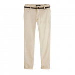 Scotch & Soda low waist regular fit broek beige
