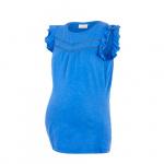 MAMALICIOUS zwangerschapsshirt Siana van biologisch katoen blauw