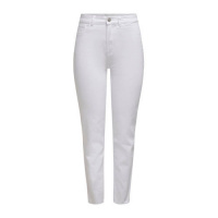 ONLY High Waist Trousers Dames White