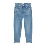 High-waist slouchy jeans