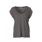 PIECES T-shirt met streepdessin