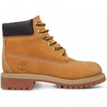 Timberland Junior 6-inch Premium Boots (36 t/m 40) Geel / Honing Bruin 12909-37.5