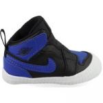 Nike Jordan 1 Crib AT3745-007 Zwart / Blauw maat 16