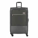 Travelite Arona 4 Wiel Trolley L Expandable anthracite Zachte koffer