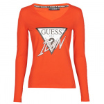 T-Shirt Lange Mouw Guess LS VN ICON TEE