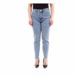 ONLY Onlemily Hw Cropped Ankle Straight Fit Jeans Dames Blauw