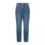 NOISY MAY High-waist Loose Fit Jeans Dames Blauw