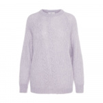 P O S T Y R Cropped Knitted Jumper Dames Paars