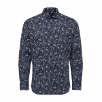 SELECTED Slim Fit Overhemd Heren Blauw