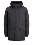 JACK & JONES Capuchon Parka Heren Grijs