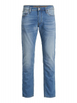 JACK & JONES Glenn Original Ge 003 Indigo Knit Slim Fit Jeans Heren Blauw