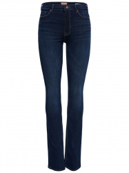 ONLY high waist bootcut jeans donkerblauw