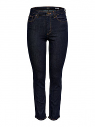 ONLY Onlsienna Mid Ankle Slim Fit Jeans Dames Blauw
